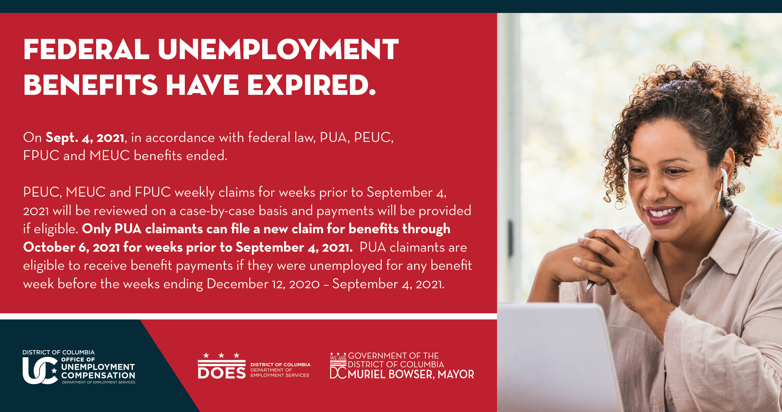 Learn more about which federal unemployment benefits ended September 4